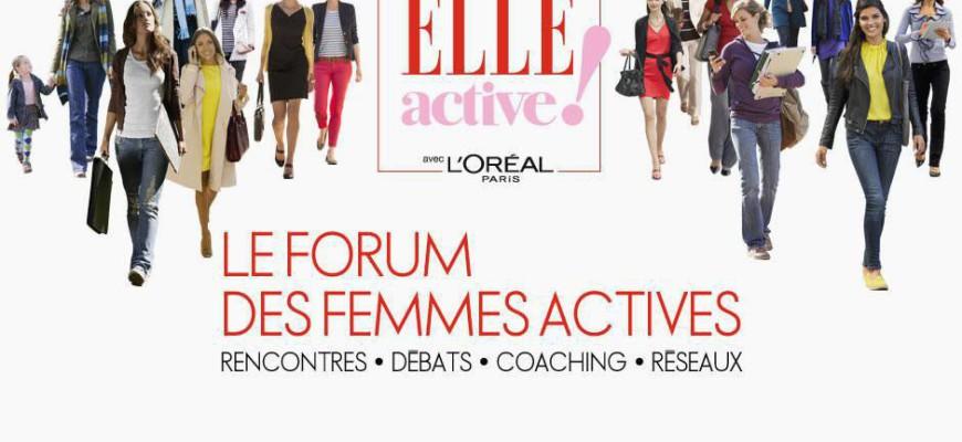 Stimulus au Forum Elle Active